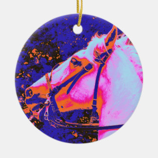 HORSES CHRISTMAS TREE ORNAMENT
