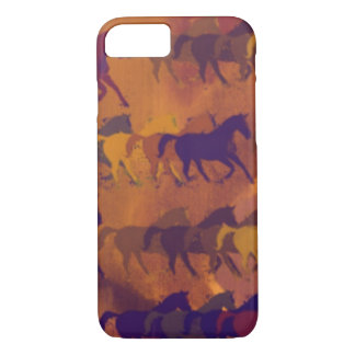 horses farm pattern iPhone 8/7 case