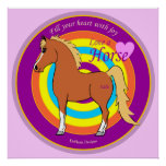 Horses Fill Your Heart With Joy Poster