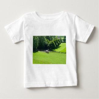 Horses grazing in Yorkshire Baby T-Shirt