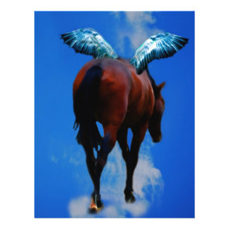 Horses have angels 21.5 cm x 28 cm flyer