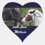 Horses Heart Stickers