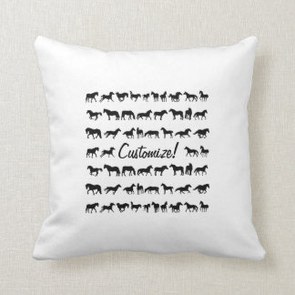 Horses, Horses, Horses! Cushion