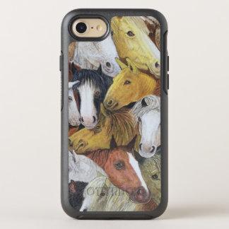 Horses Horses OtterBox Symmetry iPhone 8/7 Case