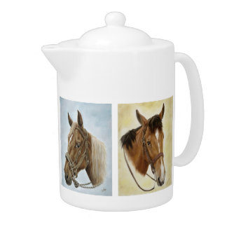 Horses Horses! Teapot