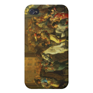 Horses in a Courtyard iPhone 4 Cover