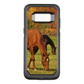 Horses in Autumn OtterBox Samsung Galaxy S8 Case