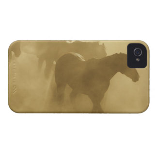 Horses in corral iPhone 4 Case-Mate cases