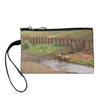 Horses in Moab Change Purse