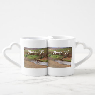 Horses in Moab Couples' Coffee Mug Set
