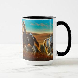 Horses in Sunlight Mug