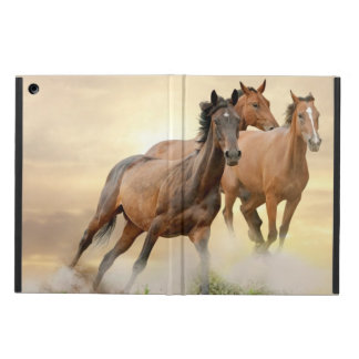 Horses In Sunset Case For iPad Air