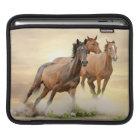 Horses In Sunset iPad Sleeve