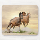 Horses In Sunset Mouse Mat