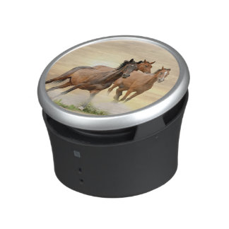 Horses In Sunset Speaker