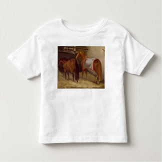 Horses in the Stables Toddler T-Shirt