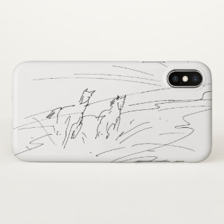 Horses iPhone X Case