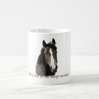 Horses Lend us the Wing we Lack Coffee Mug