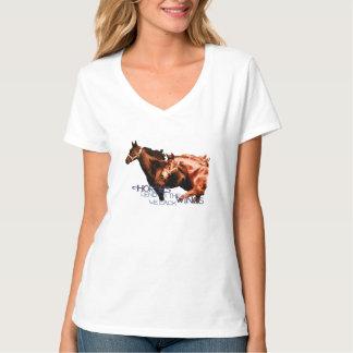 Horses Lend Us The Wings We Lack T-Shirt