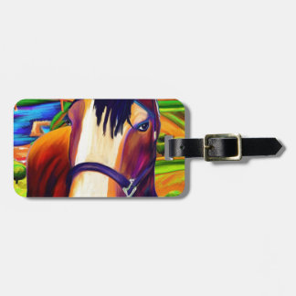 Horses Luggage Tag