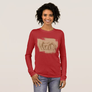 HORSES, MARE AND COLT LONG SLEEVE T-Shirt