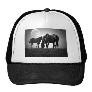 Horses & Moon Mesh Hat