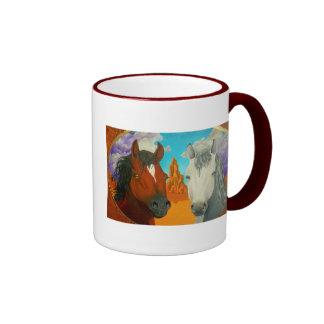 HORSES Mug By Jack Wilson