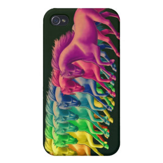 Horses of Different Colors Speck Case iPhone 4 Case