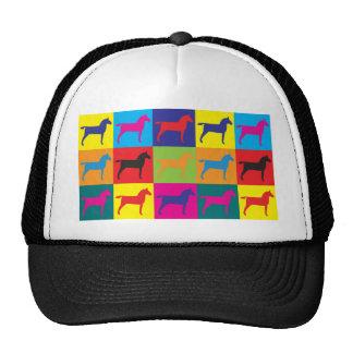 Horses Pop Art Cap