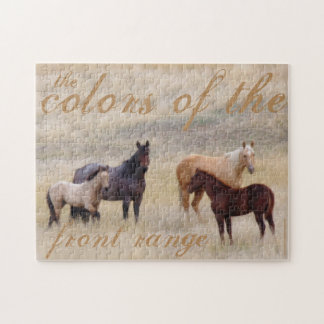 Horses puzzle by Amanda Smith Wyoming Photographer