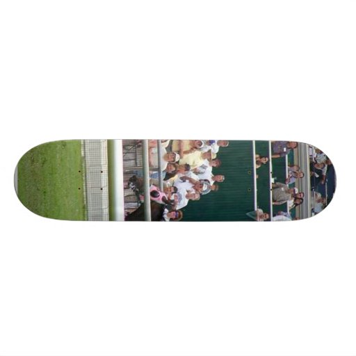 Horses Racing Tracks Skate Board Deck