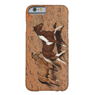Horses roaming the Big Horn MT of Shell Wyoming. Barely There iPhone 6 Case