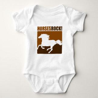 Horses Rock! #2 Baby Bodysuit