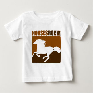 Horses Rock! #2 Baby T-Shirt