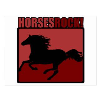 Horses Rock! #3 Postcard