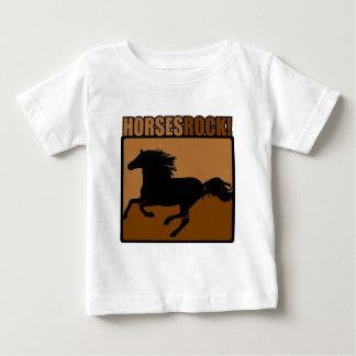 Horses Rock! Baby T-Shirt