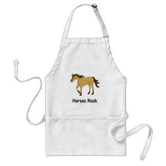 Horses Rock (buckskin) Apron