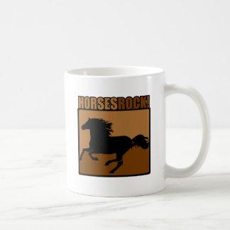 Horses Rock! Basic White Mug