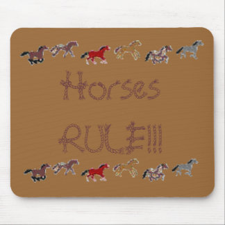 Horses RULE!!! Mouse Mat