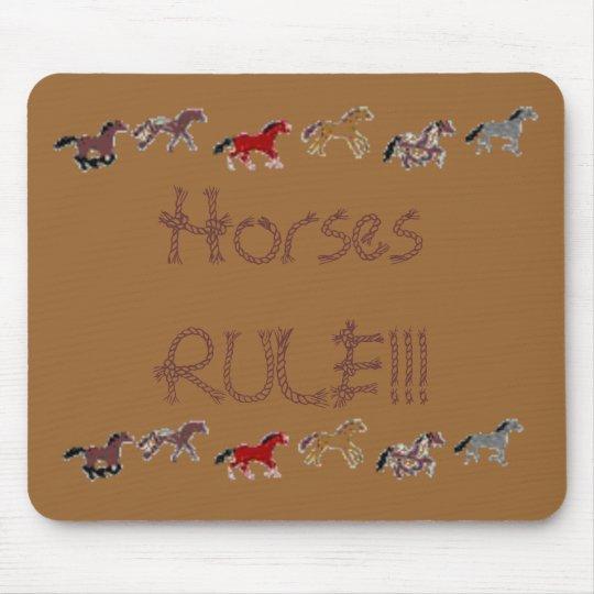 Horses RULE!!! Mouse Mat