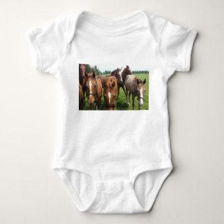 Horses Rule Toddler Apparel Baby Bodysuit