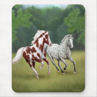 Horses Running Free Mousepad