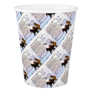 Horses  Sister Poem Paper Cup