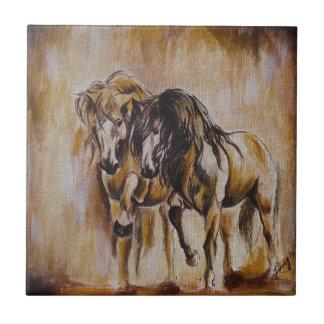 Horses Tile