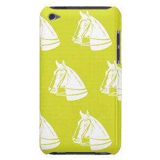 Horses yellow white barely there iPod covers