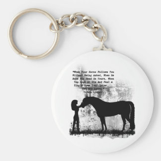 Horses- You Are Loved Key Ring