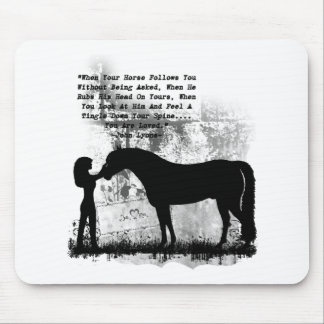 Horses- You Are Loved Mouse Mat