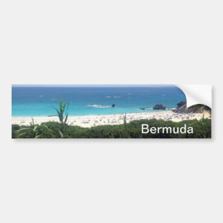 Horseshoe Bay Beach, Bermuda Bumper Sticker
