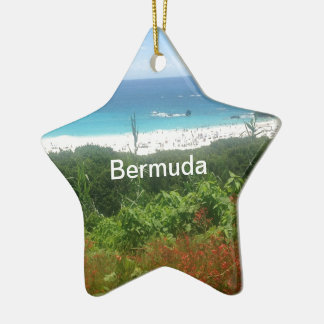 Horseshoe Bay Beach, Bermuda Christmas Ornament
