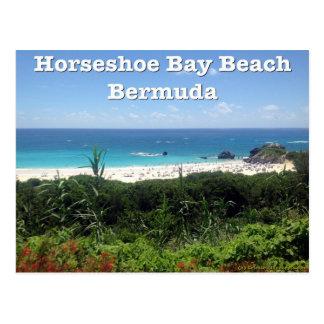 Horseshoe Bay Beach, Bermuda Postcard